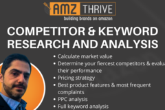 Package: Competitor & Keyword Research and Analysis