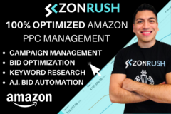 Package: Full Amazon PPC Management + Optimization Service