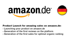 Package: Launch your Product on the German Platform amazon.de