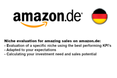 Package: Market Niche Evaluation for German Platform amazon.de