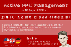 Package: Active PPC Management (30d, 3SKU) - Custom Order for Shawn