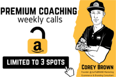 Package: 1 Month Premium Coaching Weekly Calls | 3 Spots Available