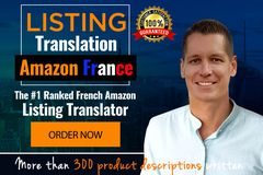 Package: Professional translation of any listing to French