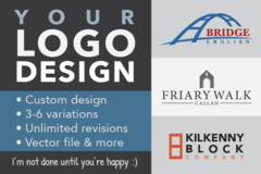 Package: I will design a custom logo for your brand :)