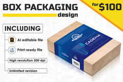 Package: Product Packaging | Label | Sticker | Insert card Design