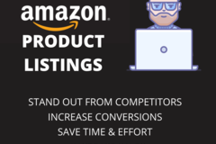 Package: Amazon SEO listing & Product Description - Free Bonuses