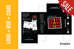 Package: LOGO + PACKAGE + THANK YOU CARD DESIGN UNLIMITED REVISIONS