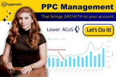 Package: ⭐ AMAZON PPC MANAGEMENT THAT WORKS, LOWERS YOUR ACOS ⭐