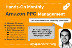 Package: Sponsored Products - Monthly Amazon PPC Management
