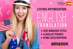 Package: Optimized SEO Listing & Translations