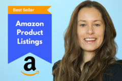 Package: Pro listing from a '#1 Best Seller' product copywriter