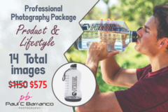 Package: Professional Product & Lifestyle Photo Package with 1 Model