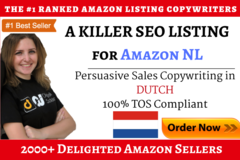 Package: A Killer SEO Amazon Listing in DUTCH [Amazon NL]