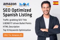 Package: *NEW ACCOUNT PROMO* Spanish (.ES) Listing SEO Optimized