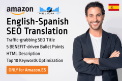 Package: *NEW PROMO* Translation English to Spanish .ES SEO Optimized