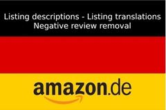 Package: German Amazon Copywriter/SEO - Boost Sales