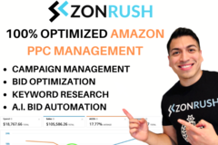 Package: **SALE** Amazon PPC Management + Optimization Service