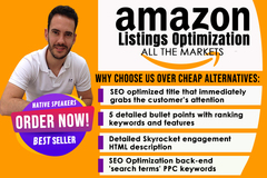 Package: Product listing optimization SEO Translation Spanish/English
