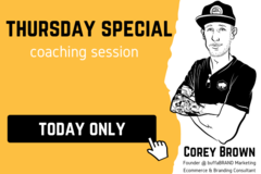 Package: Thursday April 2nd Special | 25 Minute Consulting Call