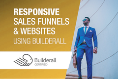 Package: Best Value Builderall Sales funnel Website & Marketing Pack