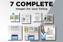 Package: ✌ 7 Complete Images Design- UNLIMITED REVISIONS