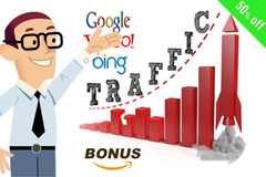 Package: Best Value Amazon Traffic Boost & Amazon Rank Marketing Pack