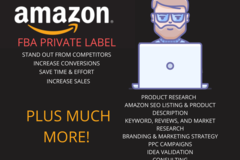 Package: Amazon FBA Private Label Package for New Sellers *SALE*