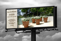 Package: Billboard advertising design