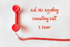 Package: 1 Hour Of Consulting- Ask Me Anything!