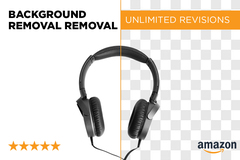 Package: Amazon Product Background Removal - 2 images