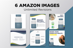 Package: 6 Images for Amazon - Custom Design