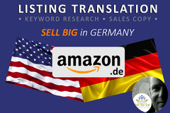Package: PRO Listing Translation | Incl. Keywords +HTML | (amazon.de)