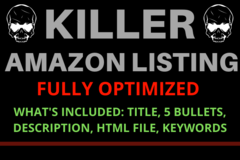 Package: KILLER AMAZON LISTING