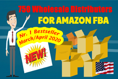 Package: 750 USA Wholesale Distributors for your Amazon FBA business