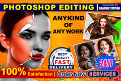 Package: Any Photoshop Job Professional & Fast