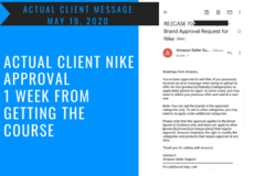 Package: Ultimate Guide to Nike Brand Ungating Course