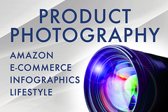Package: Professional High-End Amazon Product Photography