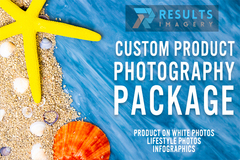 Package: Custom Product Photography Package | Lifestyle & Infographic