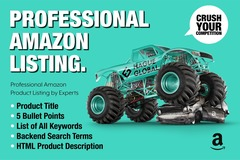 Package: PROFESSIONAL AMAZON PRODUCT LISTING