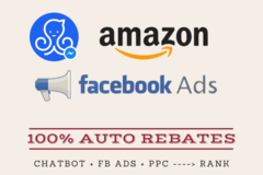 Package: Unattended Amazon Rebate automation Chatbot [Rank to Page] 1