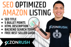 Package: Premium Amazon Listing with PPC Keywords