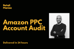 Package: Full Amazon PPC Campaign Audit delivered in 24 hours
