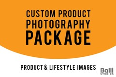 Package: CUSTOM ORDER FOR NYLES - Product Photography
