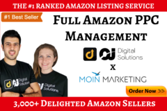 Package: Full Amazon PPC Ads Management - Up to 12 SKUs / 1 Month