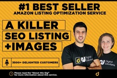 Package: Killer Amazon EBC Listing (Registered Brands) Copy & Design