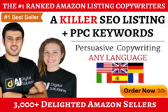 Package: Killer SEO Amazon Listing, PPC Keywords + Bonus Launch Guide