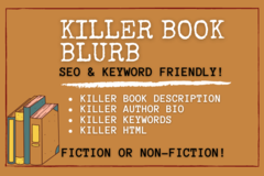 Package: Killer Book Blurb - SEO Friendly!
