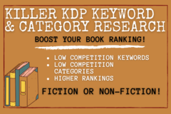 Package: Killer Keyword and Category Research for KDP