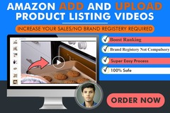 Package: upload Amazon Listing Video to boost sales without brand reg