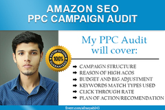 Package: Sale! 70% OFF! Amazon PPC campaign audit to boost sales